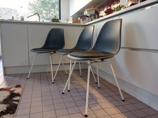 3 Chaises DSX de Charles et Ray Eames édition Vitra - NEUF,Vitra,Charles & Ray Eames(3)
