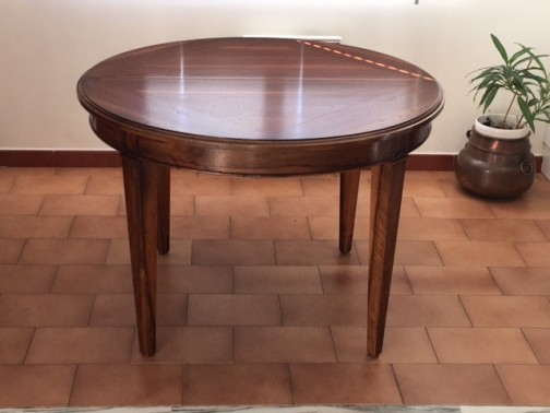 Table ronde Noyer
