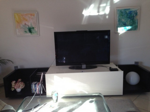 Meuble TV coulissant