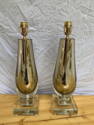 Paire de lampe - Alberto Doña,Murano,Alberto Dona