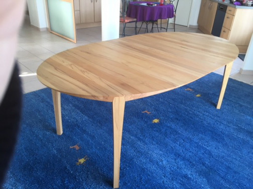 Table Scandinave - Ovale(3)