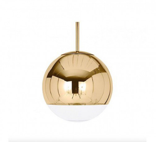 Suspensions Mirror Ball gold