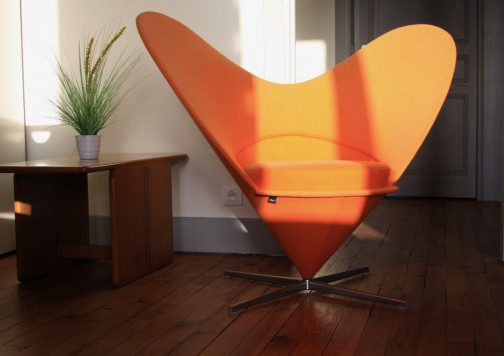 Heart Cone Chair,Vitra,Verner PANTON(7)