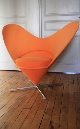 Heart Cone Chair,Vitra,Verner PANTON(5)