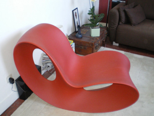 Rocking Chair,Magis,Ron Arad