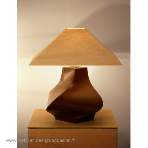 Lampe céramique contemporaine