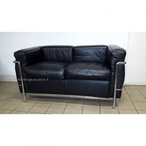 Canape 2 places lc2 cassina - Canape knoll occasion ...