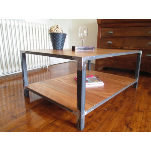 table basse indus factory