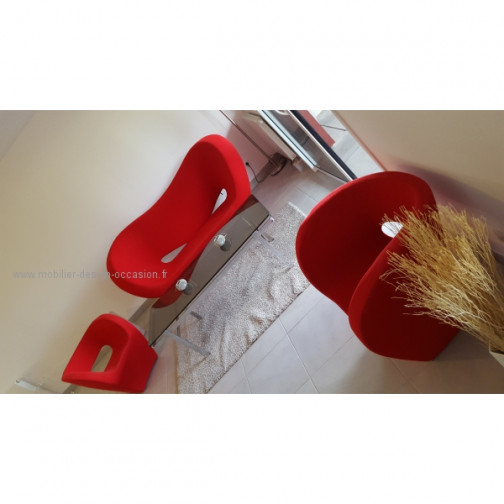 Moroso Victoria and Albert fauteuil rouge