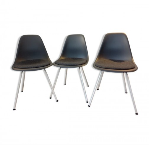 3 Chaises DSX de Charles et Ray Eames édition Vitra - NEUF,Vitra,Charles & Ray Eames