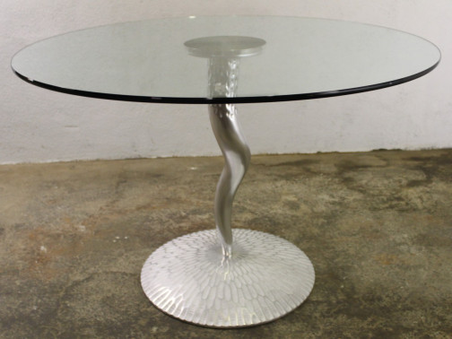 Table verre edition Protis design