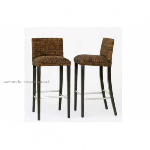 tabourets chaises de bar roche bobois carioca. Black Bedroom Furniture Sets. Home Design Ideas