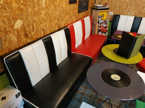 Banquettes style Diner