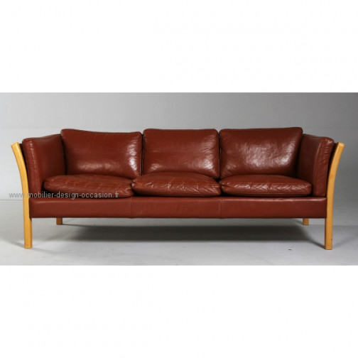 canapé cuir scandinave 3pl,Stouby,Stouby(2)