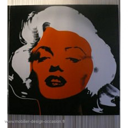 toile Marilyn style Andy Warhol,Style Andy Warhol (2)