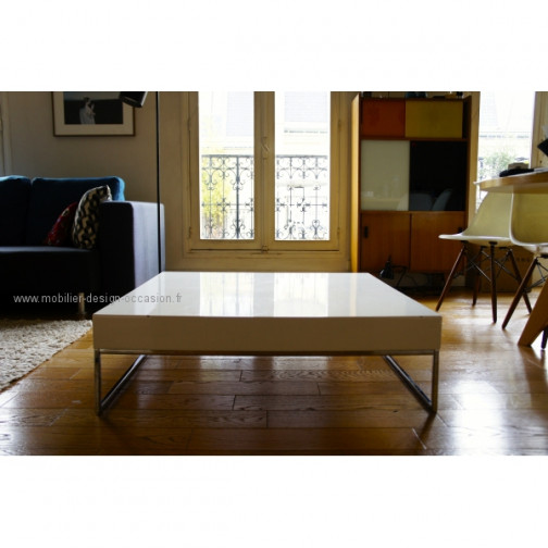Table basse carree interiors - Table basse carree design ...