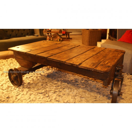 Table basse industrielle(1)