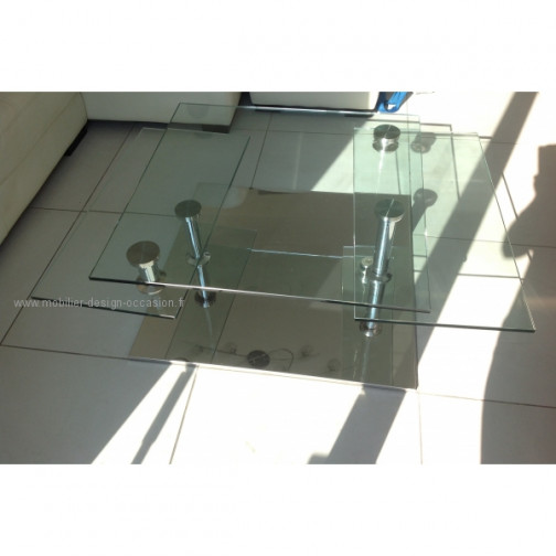 table verre xxl