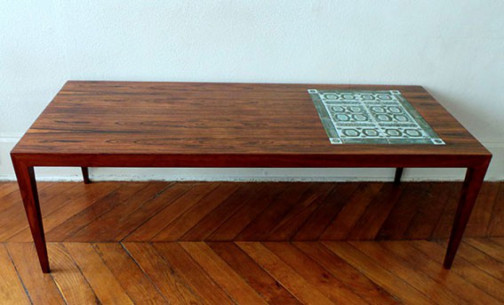 Table Scandinave Palissandre Severin Hansen