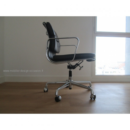 Si ge de bureau eames soft pad chair ea 217 for Siege eames vitra